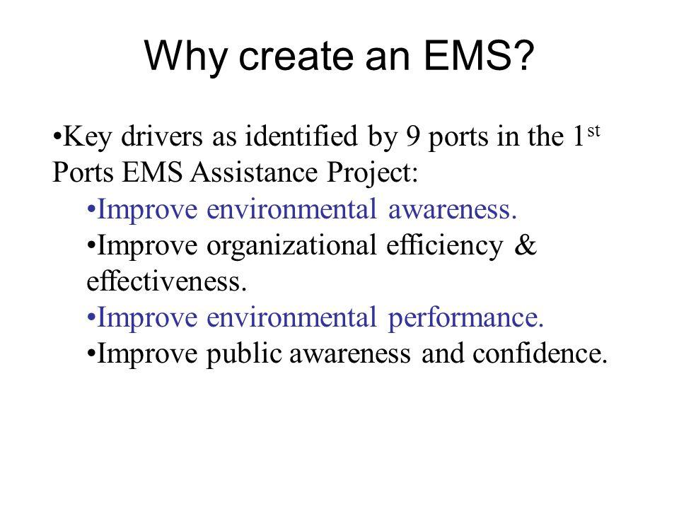 Why create an EMS.