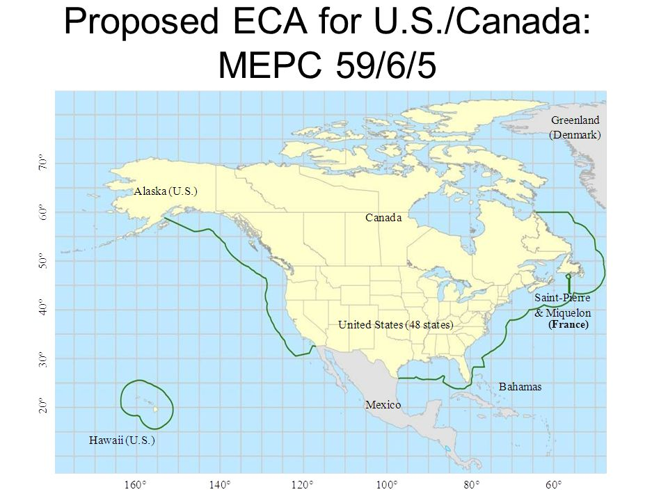 Proposed ECA for U.S./Canada: MEPC 59/6/5 (France)