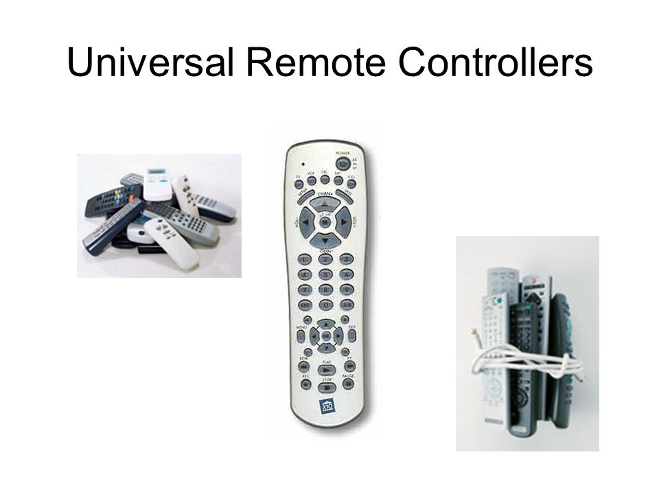 Universal Remote Controllers