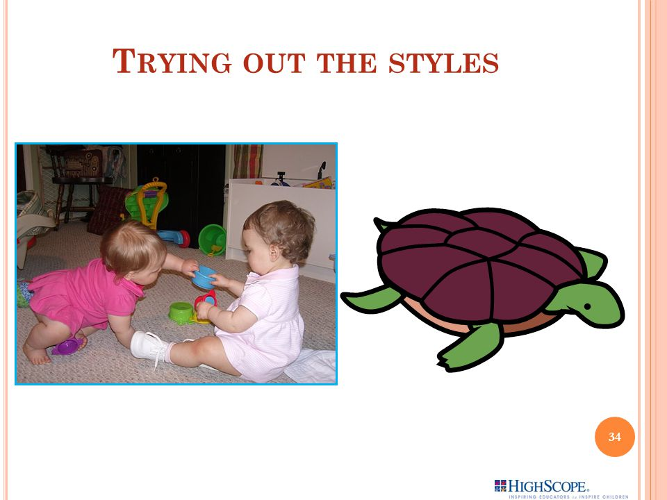 T RYING OUT THE STYLES 34