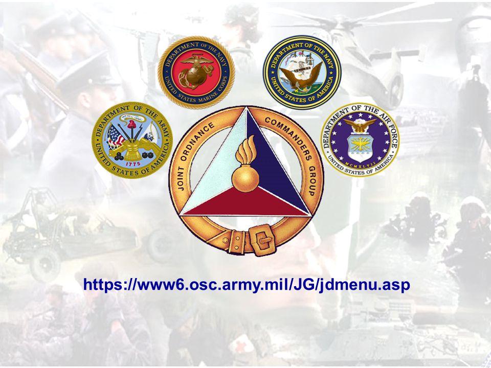 11 of 16 https://www6.osc.army.mil/JG/jdmenu.asp