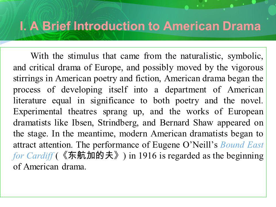 II.Introduction to O'Neill A.