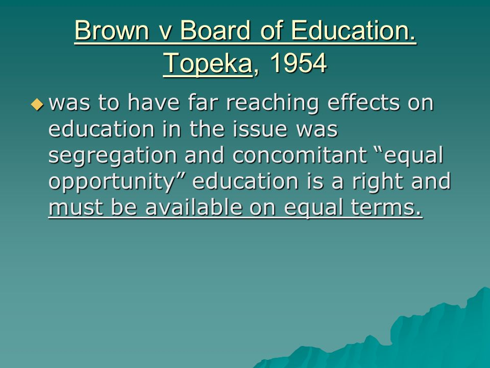 In the 1980's funding was used to  reexamine the country's educational system (A Nation at Risk, 1983; The Holmes Report,1 986, and others) and  to increase the quality of schooling