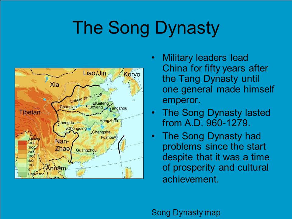 Rulers At the start of both dynasties a general took over and made himself emperor.