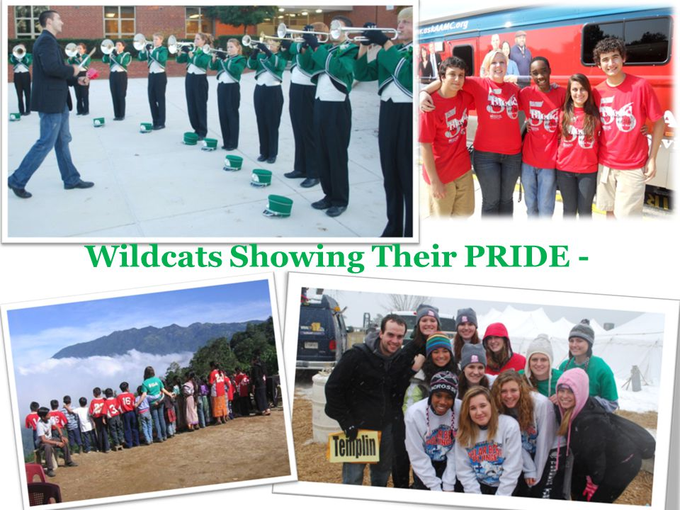 Wildcats Showing Their PRIDE -