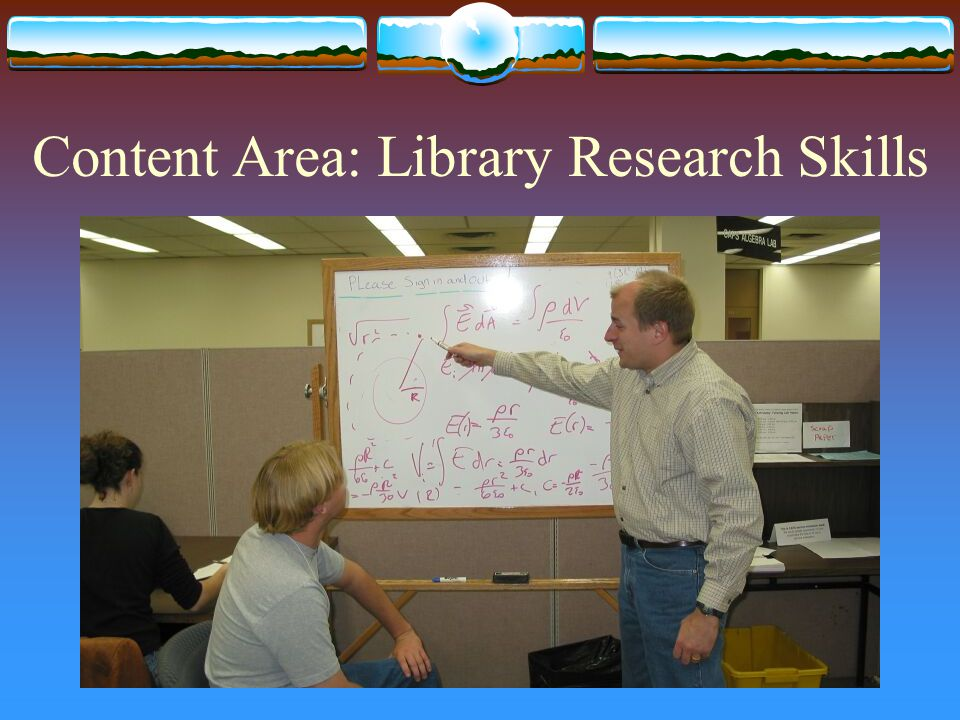 Content Area: Library Research Skills