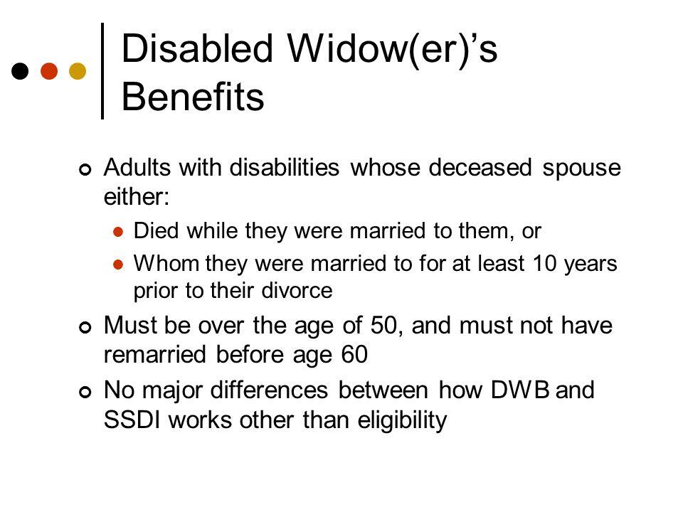 How Work Impacts the Title II Benefits─ SSDI, CDB, & DWB