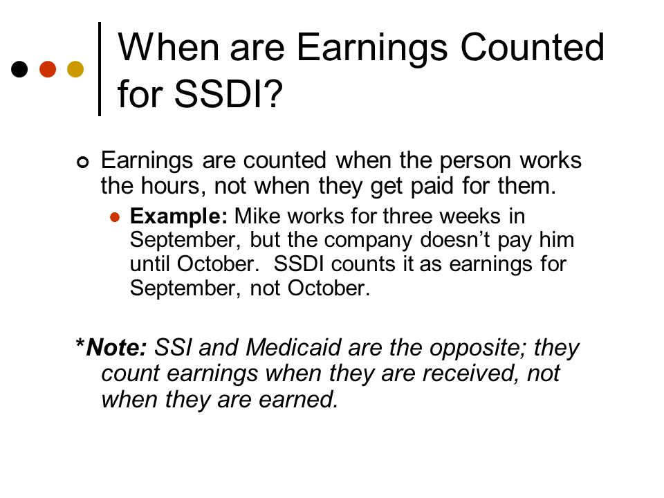 Post-TWP SSDI Work Incentives Available After TWP Ends: Impairment-Related Work Expenses (IRWE) Subsidy/Special Conditions