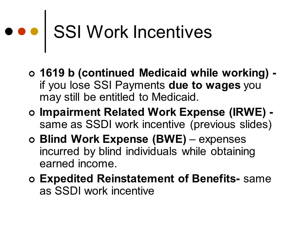 Student Earned Income Exclusion (SEIE) To be eligible for the SEIE you must: Be under 22 years old Regularly attend school Not be married or head of household If you are eligible SSI will: Exclude up to $1660 of earnings per month, up to $6600 per year