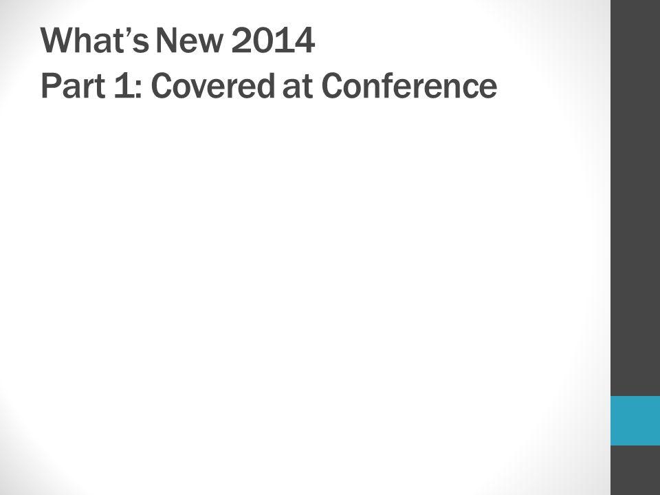 RDA Updates – April 2014 Chapter 6.