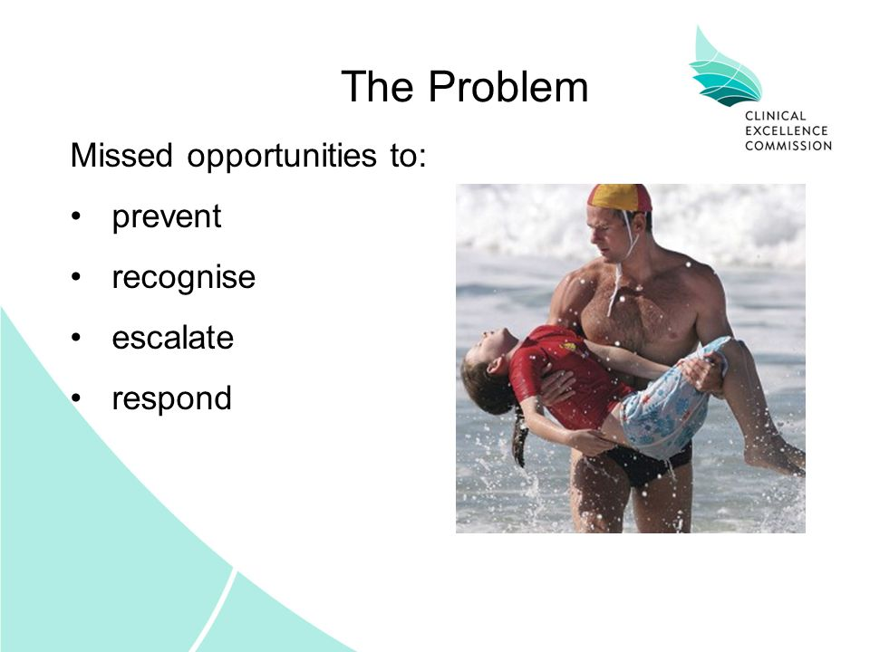 Intervention on the Slippery Slope Patient Condition Time Clinical Review ALS Prevention Rapid Response The Solution