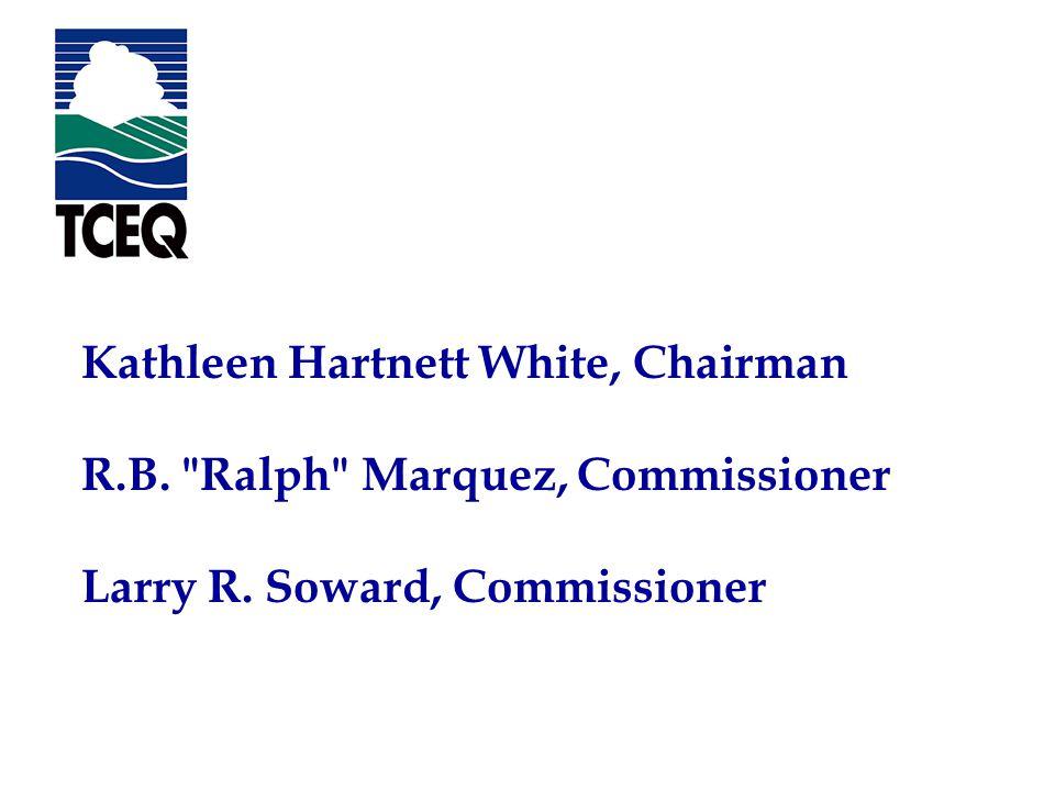 The EnviroMentor Program Texas Commission on Environmental Quality Kathleen Hartnett White, Chairman R.B.