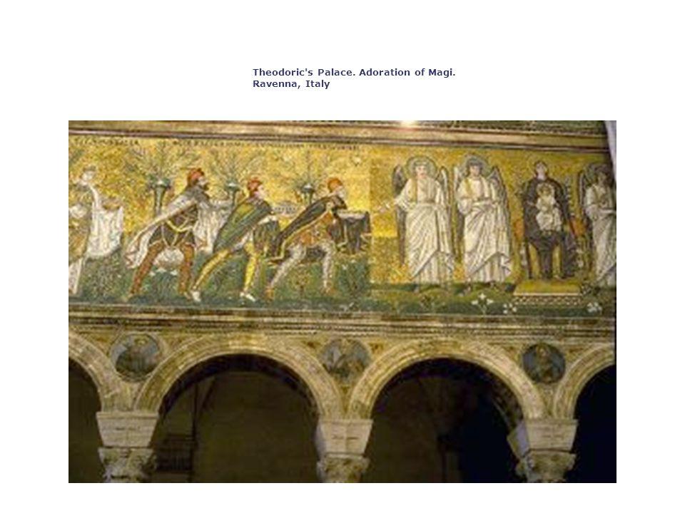 Theodoric s Palace. Adoration of Magi. Ravenna, Italy