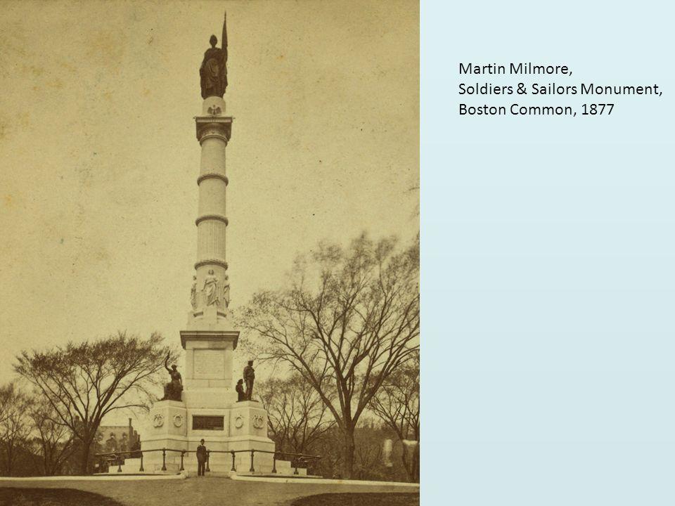 Martin Milmore, Soldiers & Sailors Monument, Boston Common, 1877