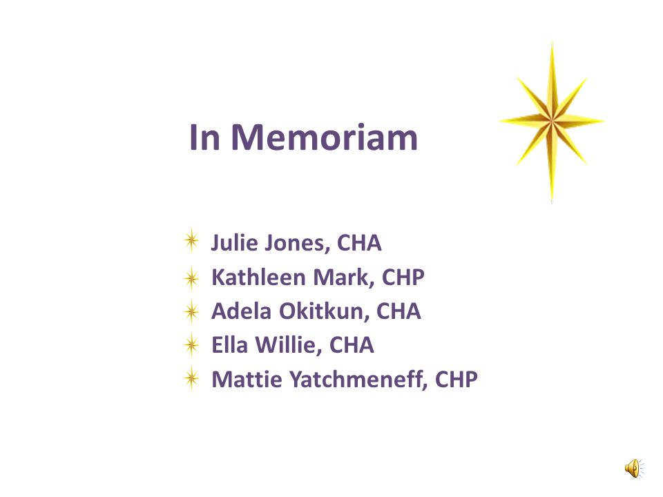 Sophia Ahmaogak, CHP, Stella Anasogak, CHP Dianne George, CHP  These three health aides working in Wainwright took exceptional care of a recent pedia