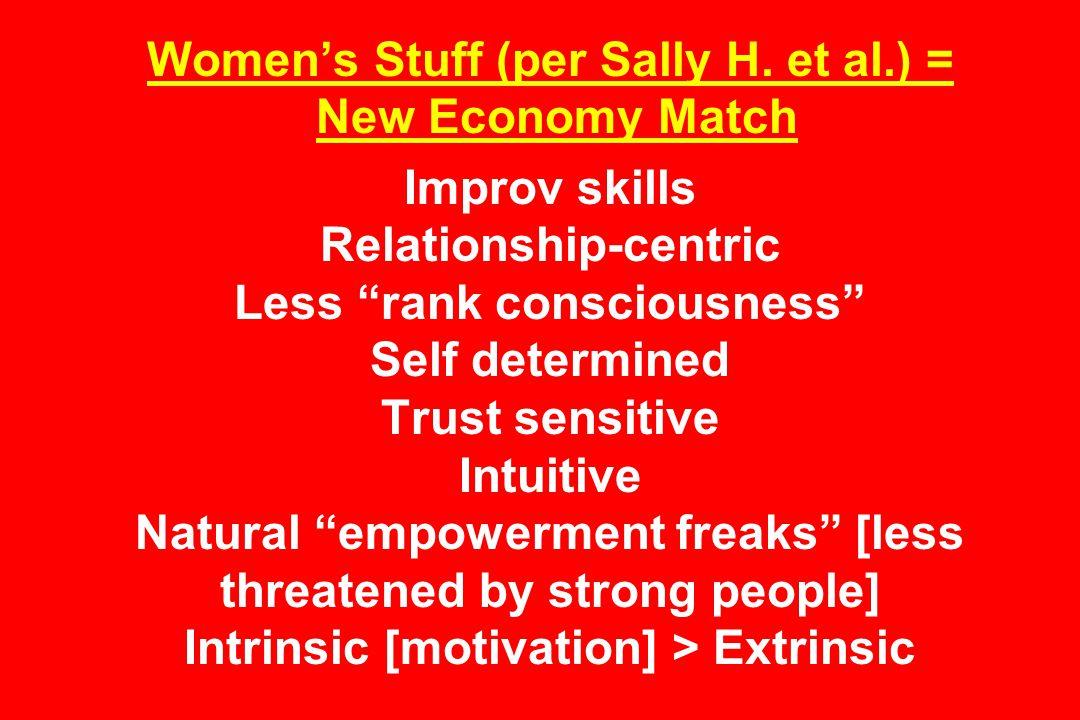 Women's Stuff (per Sally H.
