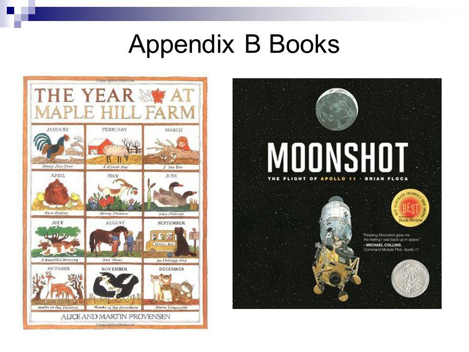 Appendix B Books