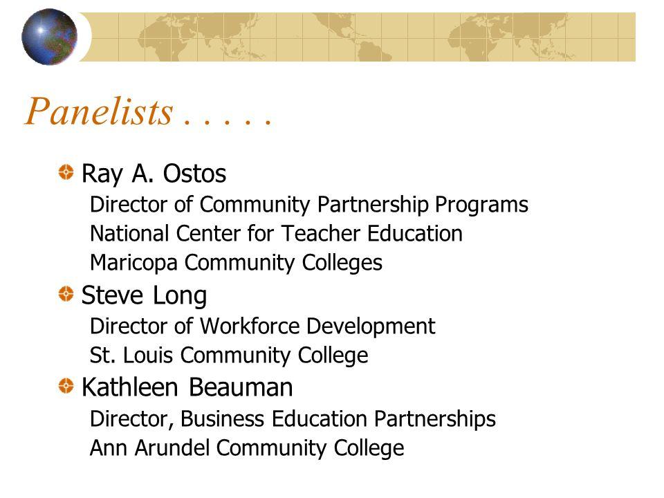 1 5 13 11 15 7 6 3 9 10 12 2 4 14 8 CCTI Site Partnerships 1-Miami Dade College 6-Corning Com.