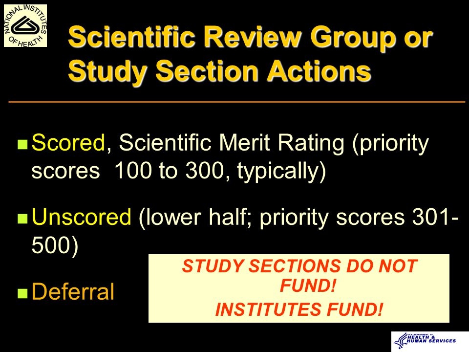 Criteria for Selection of Peer Reviewers Demonstrated Scientific Expertise Doctoral Degree or Equivalent Mature Judgment Work Effectively in a Group Context Breadth of Perspective Impartiality Interest in Serving Diversity (Women and Minority Scientists) Business skills/experience You can be a reviewer too!!!