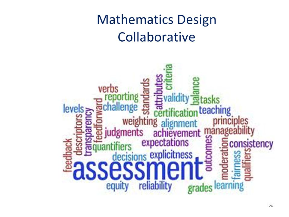 26 Mathematics Design Collaborative