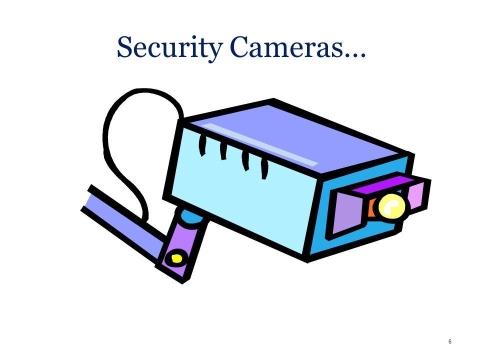 6 Security Cameras…