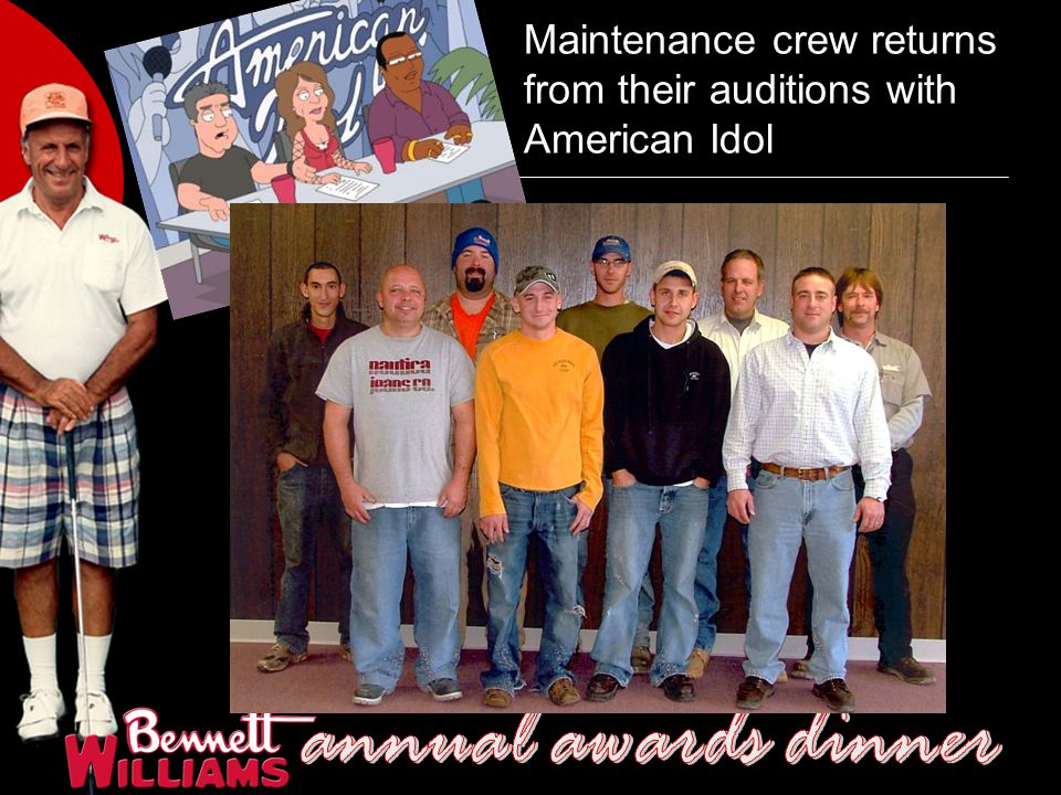 Maintenance crew returns from their auditions with American Idol