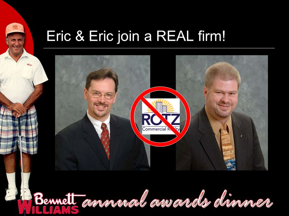 Eric & Eric join a REAL firm!