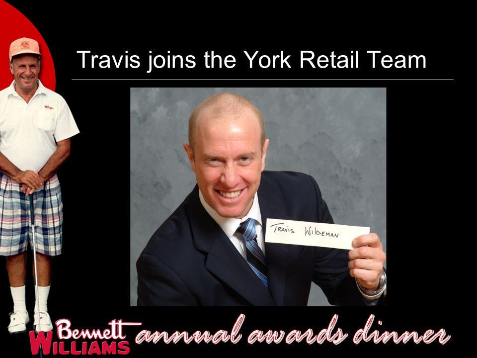 Travis joins the York Retail Team