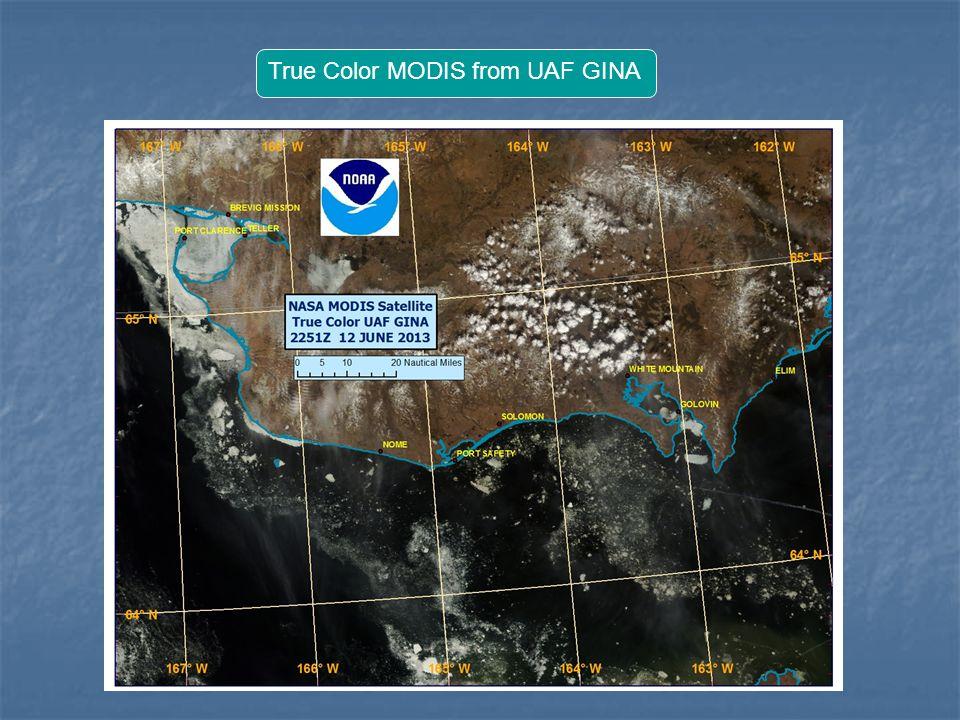 True Color MODIS from UAF GINA