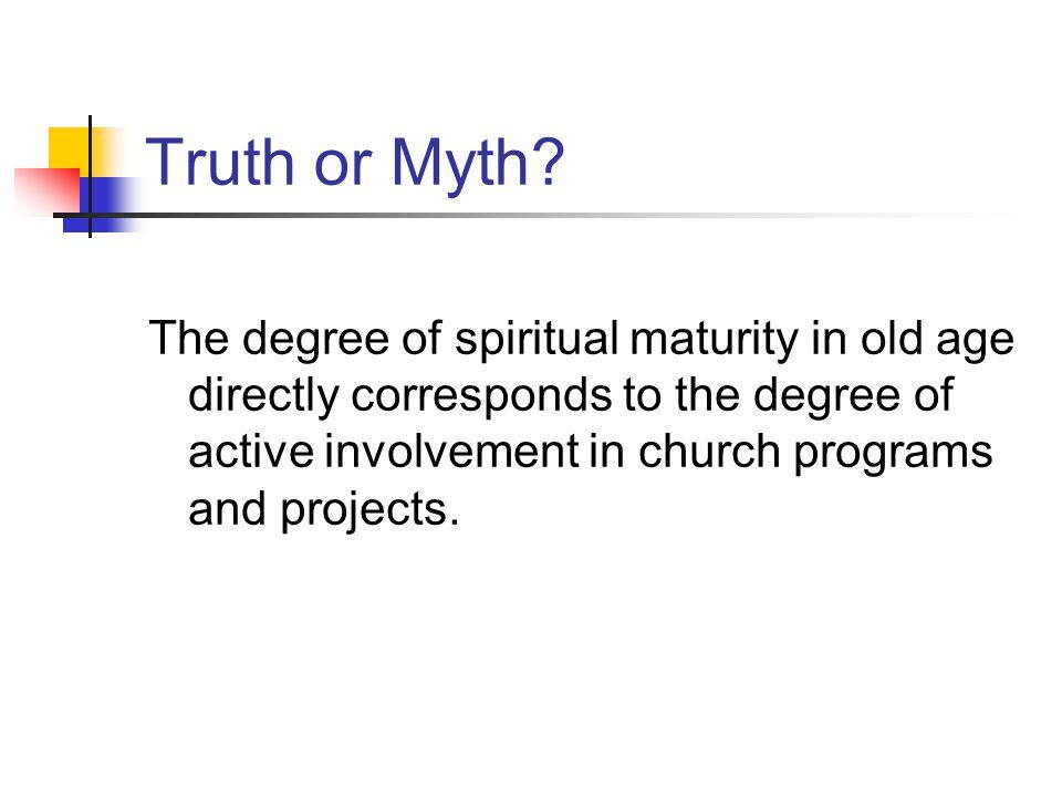 Truth or Myth.