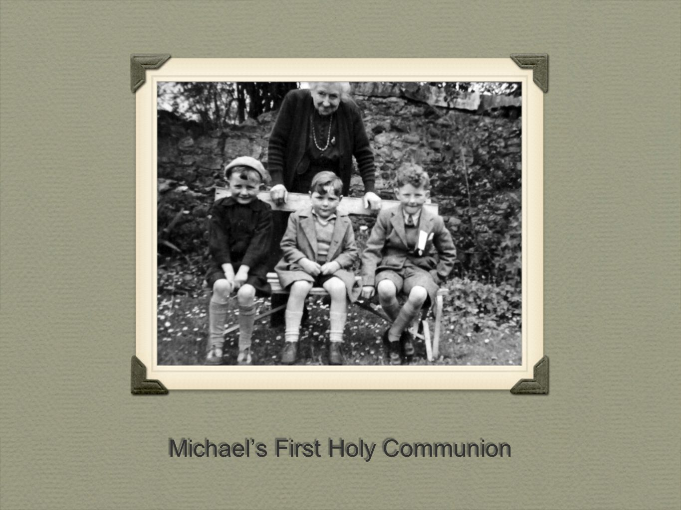 Michael's First Holy Communion