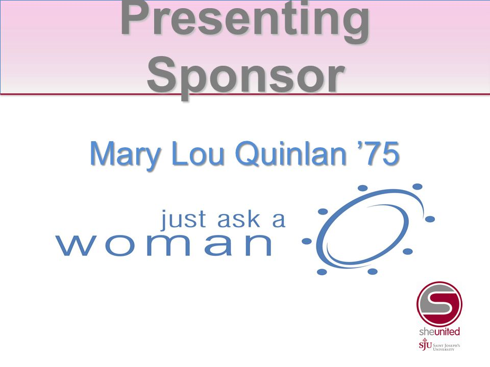 Mary Cycon '78 Jane Mingey '80 Maureen Mingey '82 Table Hosts