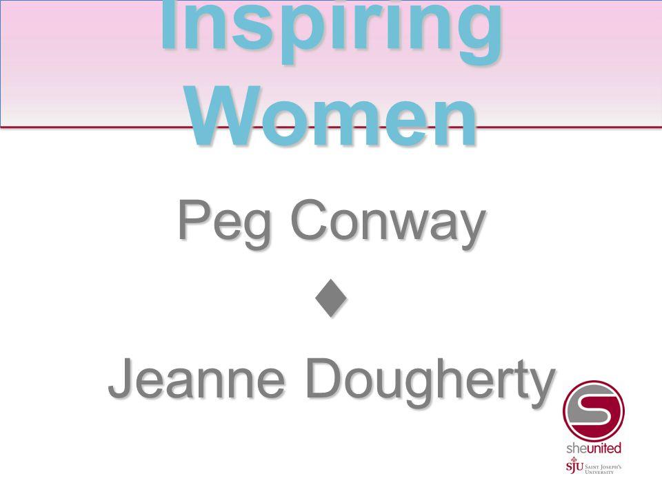 Josephine Hafner Rigney ♦ Jean Ramsay Inspiring Women