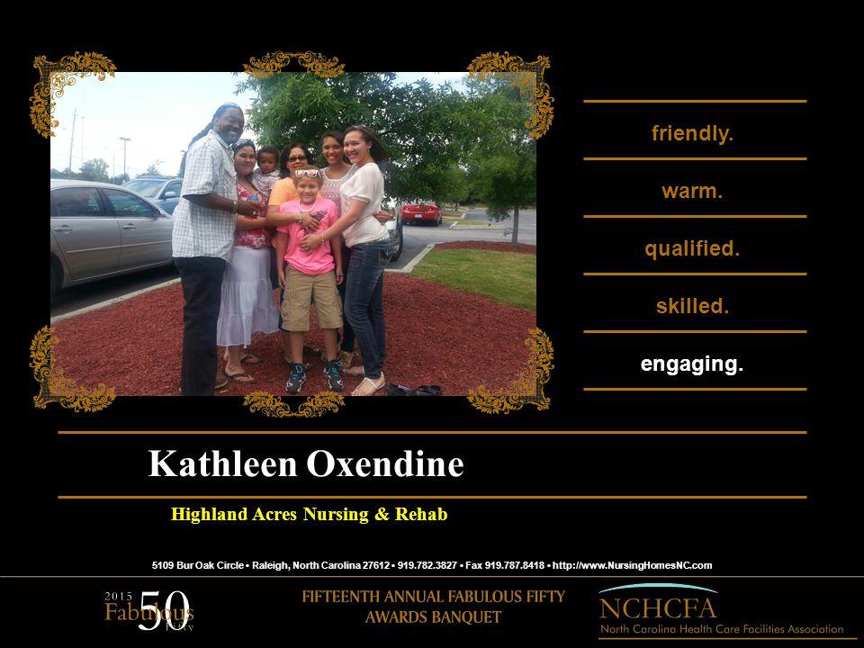 5109 Bur Oak Circle Raleigh, North Carolina 27612 919.782.3827 Fax 919.787.8418 http://www.NursingHomesNC.com friendly.