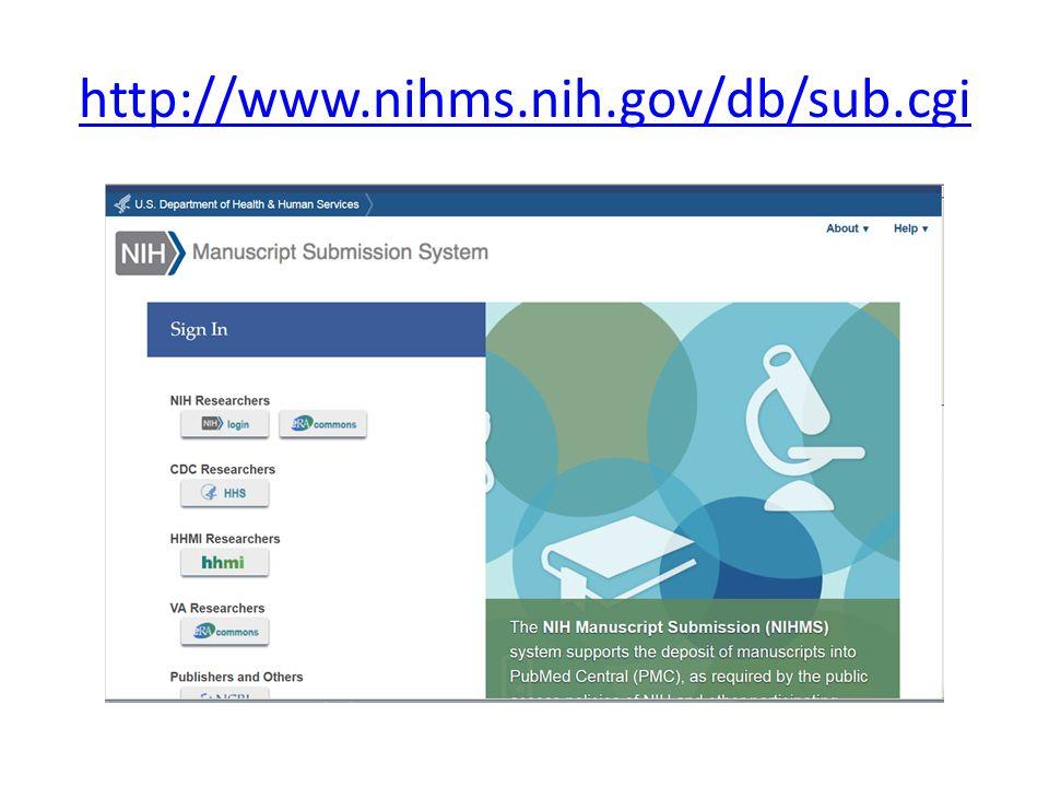 http://www.nihms.nih.gov/db/sub.cgi