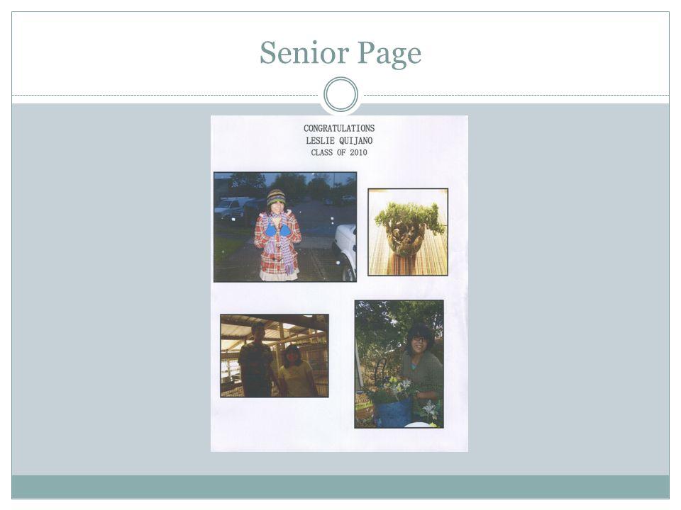 Senior Page