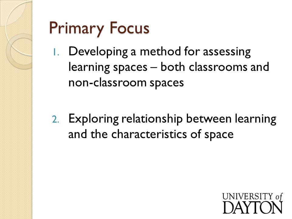 Primary Focus 1.