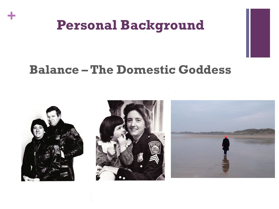 + Personal Background Balance – The Domestic Goddess