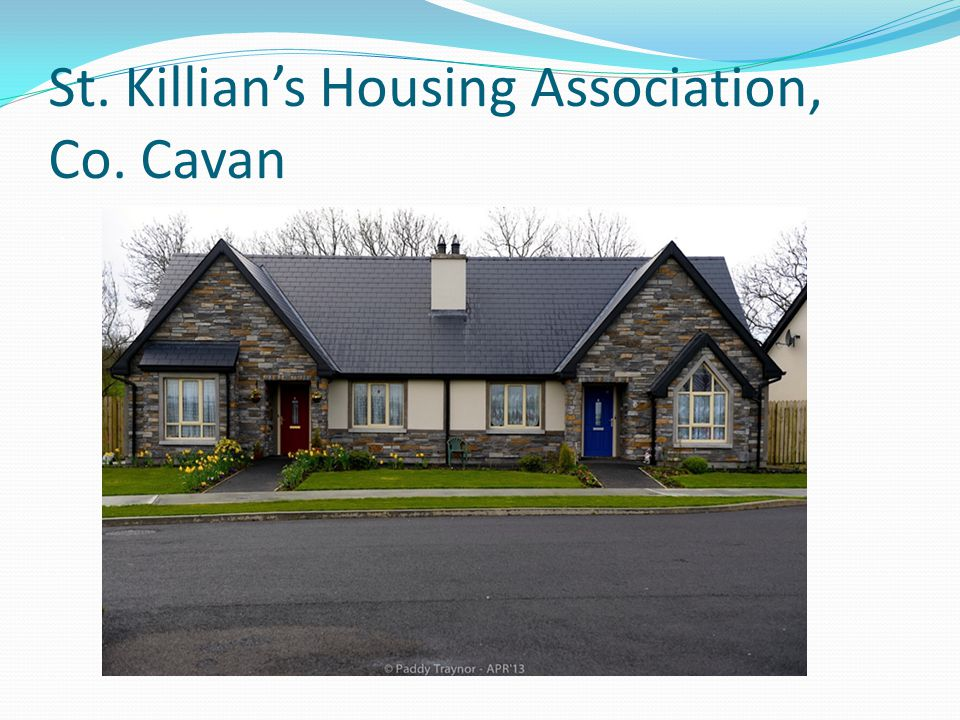 St. Killian's Housing Association, Co. Cavan.