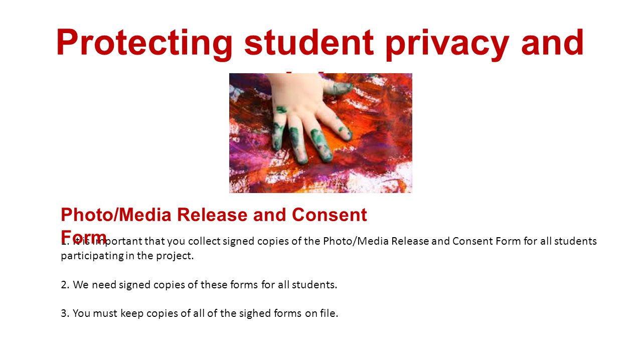 Protecting student privacy and rights 1.