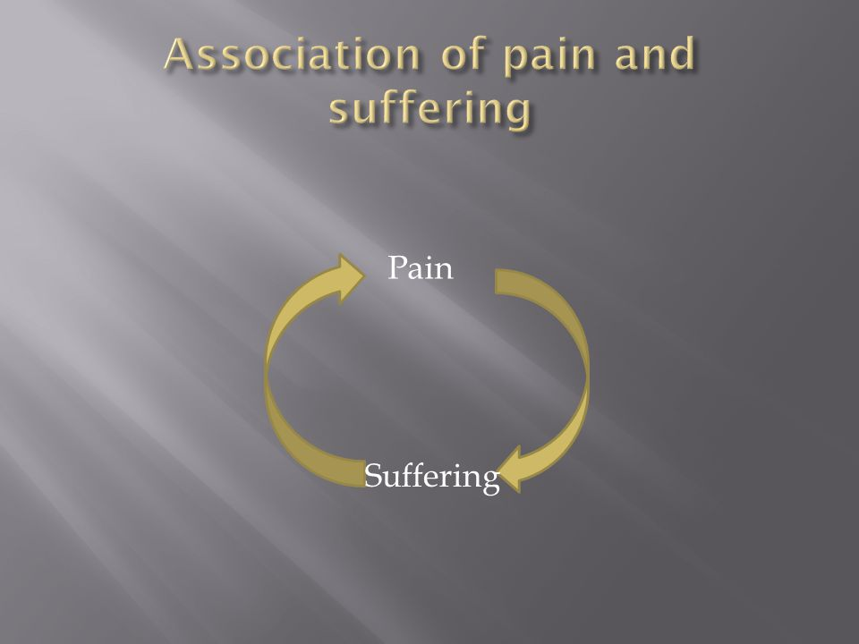 Pain Suffering