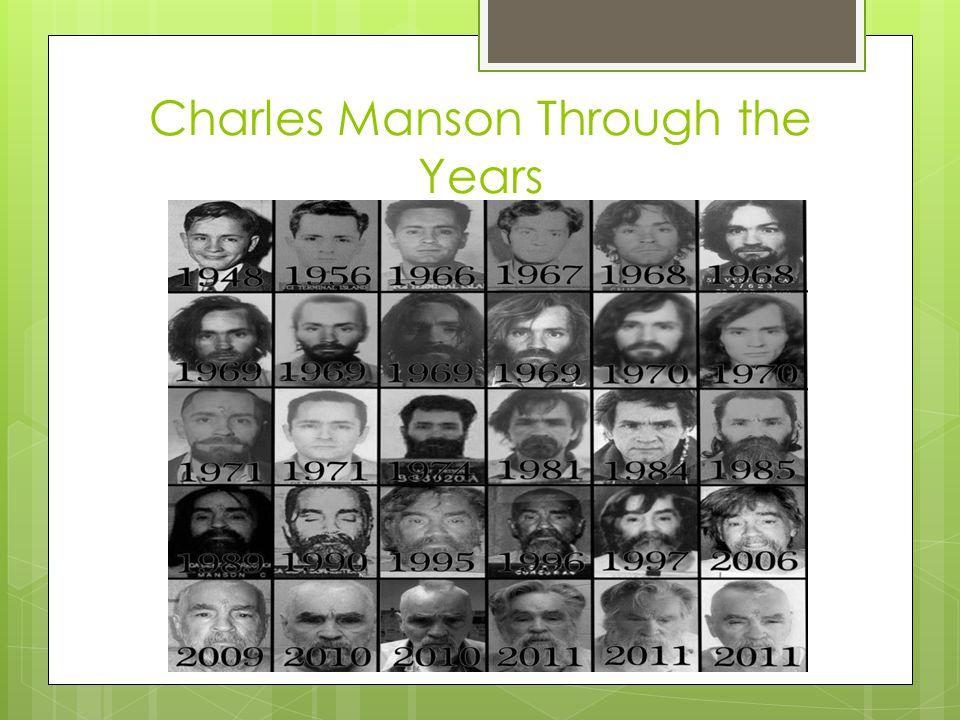 Charles Manson Through the Years