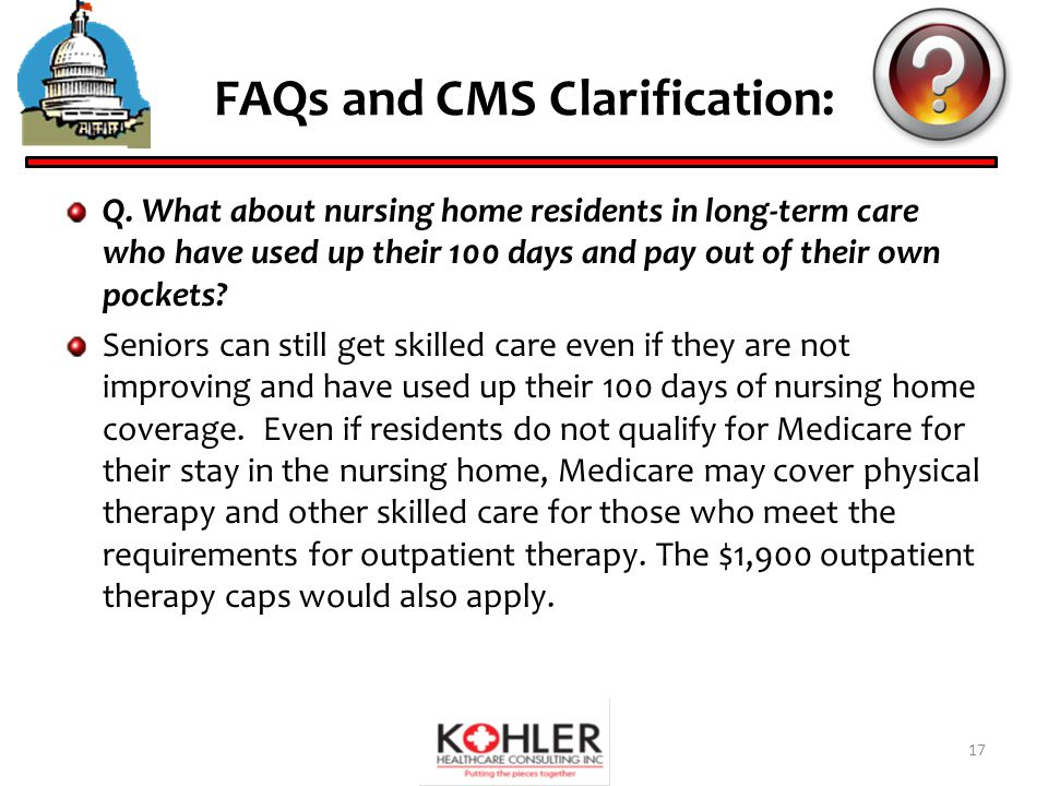 FAQs and CMS Clarification: Q.