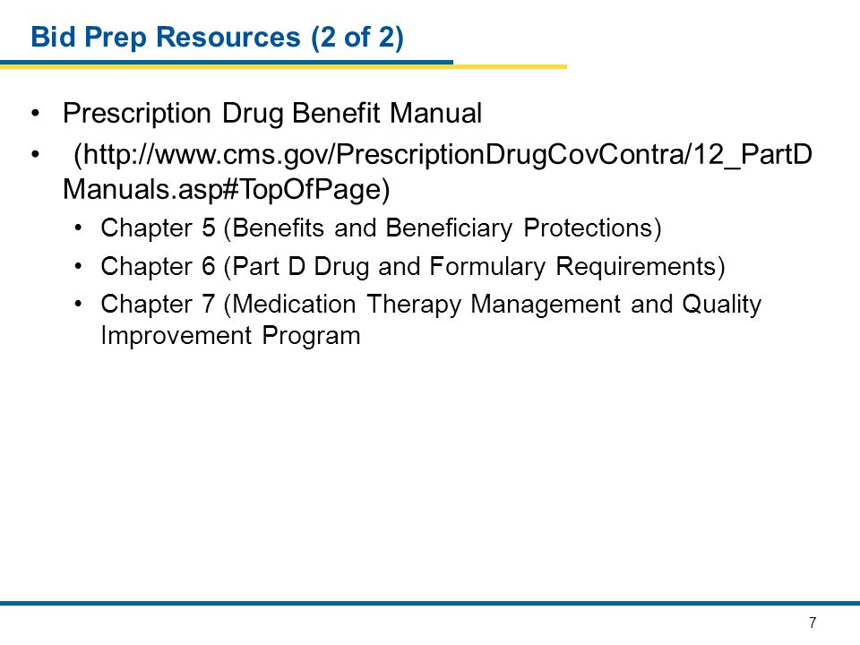 38 Part D Supplemental and Formulary File Submissions