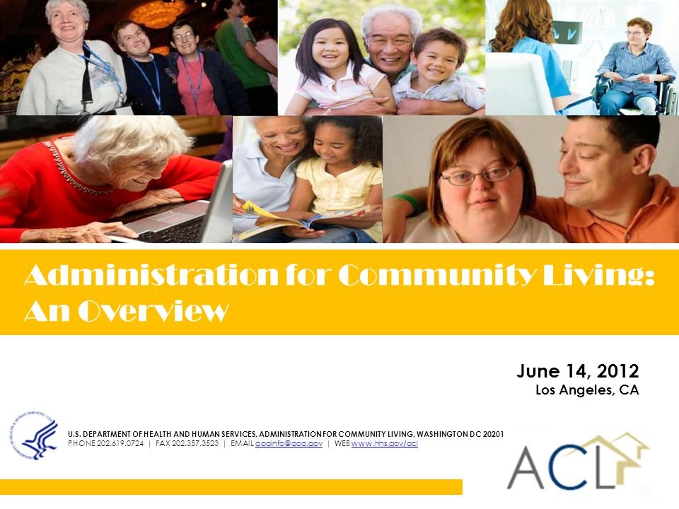 Administration for Community Living U.S.