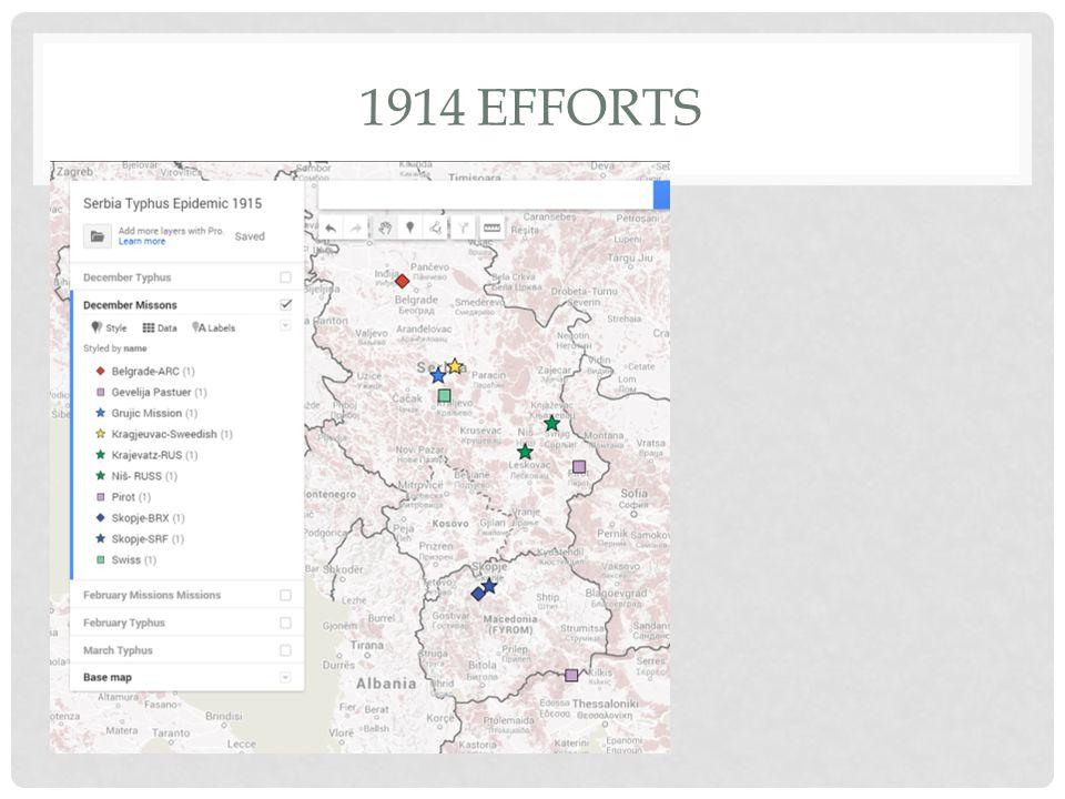 1914 EFFORTS