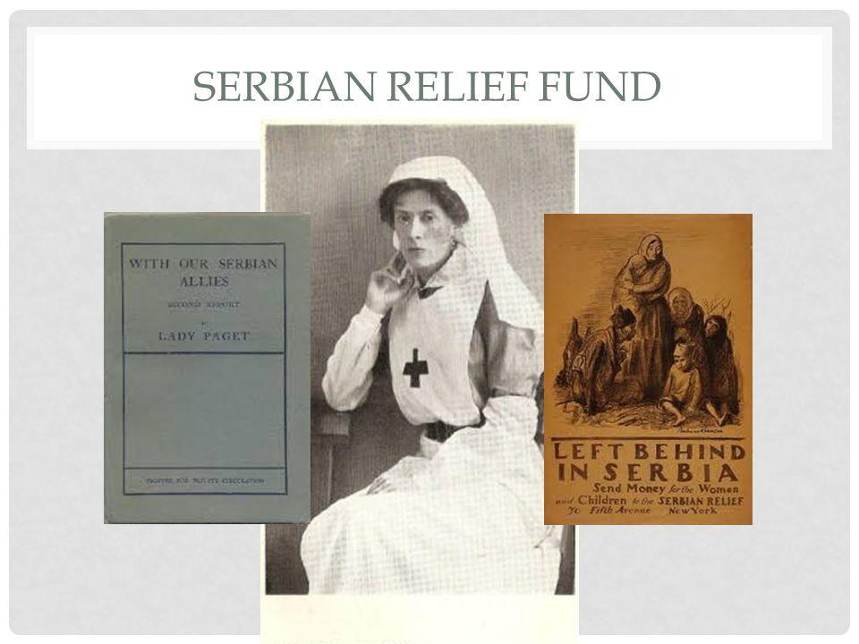 SERBIAN RELIEF FUND