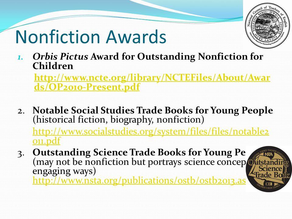 Nonfiction Awards 1.