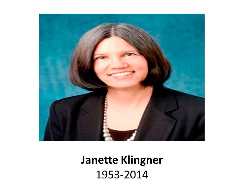 Janette Klingner 1953-2014