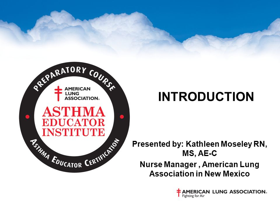 THE MISSION OF THE AMERICAN LUNG ASSOCIATION IS TO SAVE LIVES BY IMPROVING LUNG HEALTH AND PREVENTING LUNG DISEASE.